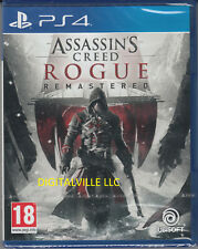 Assassin's Creed Rogue Remastered PS4 Sony PlayStation 4 New Sealed Assassins