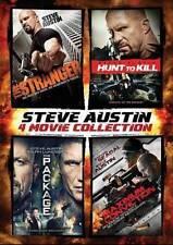 Steve Austin 4 Dvd Set, Good DVD, Dolph Lundgren, Steven Segal, Ron Lea, Adam Be