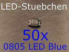 50x 0805 LED Blau