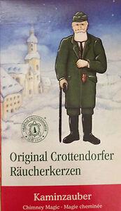 5 Packungen Crottendorfer Räucherkerzen Weihnachtsduft Kaminzauber Inhalt 24 Stk