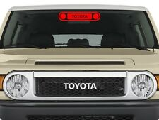 Front Grill Sticker Decal Original Design Fits on Toyota Fj Cruiser