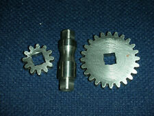 Atlas Craftsman 9 12 Inch Lathe Traverse Gear Case Repair Kit12t24t Gearshaft