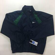 Reebok Vintage Windbreaker Jacket Mens Size:L deadstock NWT 1996 BD