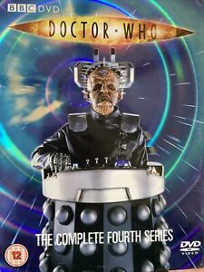 Doctor Who Series 4 boxed set DVD complete in 6 disks with extras. Davros story