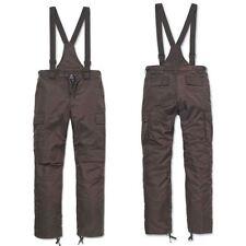 Pantaloni da uomo medio regolare marrone