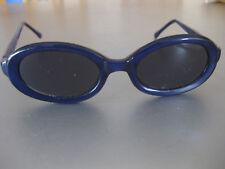 Kinder Sonnenbrille Rahmen Blau/Violett Gläser klassisch Braun Street One