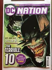 DC NATION #5 FREE PREVIEW (2018) NM THE BATMAN WHO LAUGHS, SHAZAM #1, TOP 10