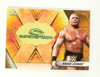 2019 Topps WWE Brock Lesnar Commemorative SummerSlam Logo Patch Relic 11/99