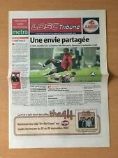 @ PROGRAMME LOSC TRIBUNE - LILLE - CAEN SMC - NO TICKET - SAISON  2004-05    @