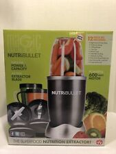 NutriBullet Nutrient Extractor 12 Piece Set!  Brand New In Box