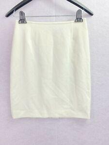 Tahari NEW Size 4P Petite Ivory Straight Career Skirt NEW