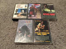 Stevie Ray Vaughan Cassette Tape Lot Sky Is Crying/Soul To Soul/Stand/Step/Live