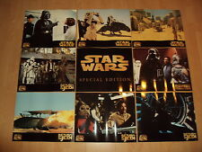 Star Wars 9 LOBBY CARDS. 50*40cm. MEGA COLLECTOR 1997. VGC/TBE !