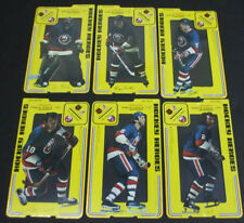 1975-76 Carlton Craft New York Islanders Hockey Heroes Stand-Up Set of (6)