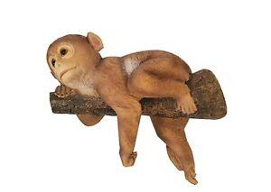 Affe Wandbehang Aus Baum für Garten,Baum,Balkon,Heim Dekor,Geschenk Artikel,Wand