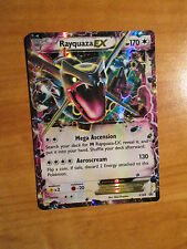 PL Shiny RAYQUAZA EX Pokemon Card PROMO Black Star XY69 Set Ultra Rare Box TCG