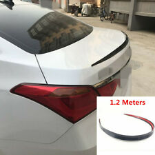 1.2 M Universal Spoiler Wing Soft Styling Car Rear Roof Trunk Lip Molding Trim