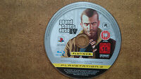 Grand Theft Auto 4 PS3  Game Disc Platinum Edition