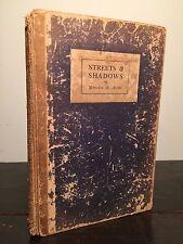 STREETS & SHADOWS, Mercedes de Acosta 1st Ed 1922 HC Vintage Lesbian Poetry RARE