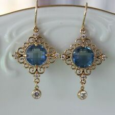 Fashion Earrings for Women Glass Crystal Rhinestones Cubic Zirconia Handcrafted