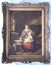 """1844 O/C William Daniels (United Kingdom 1813-1844) """" Il Rembrandt Di Liverpool"""