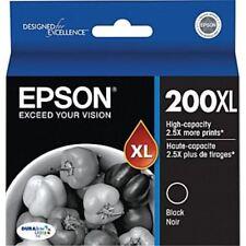 NEW Epson 200XL Black  ink Cartridge T200XL120 GENUINE!