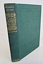 THE SCARLETT LETTER by Nathaniel Hawthorne, Circa 1910