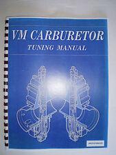 VM CARBURETOR TUNING MANUAL SUZUKI RM80 RM125 RM250 LT250 LT500