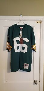 100% Authentic Mitchell & Ness 1966 Packers Ray Nitschke Legacy Jersey Sz 44 L