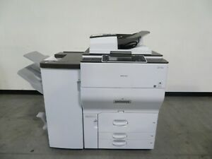 RIcoh MPC6502 C6502 color copier printer scanner - 65 ppm Only 28K meter
