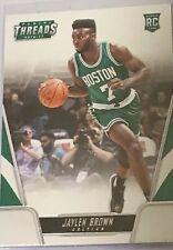 2016-17 Panini Threads Boston Celtics Basketball Card #176 Jaylen Brown RC