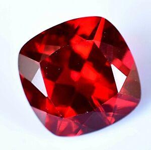 Rare Almandine Garnet Cushion Cut 5.50 Ct Certified AAA+ Natural Red Loose Gem