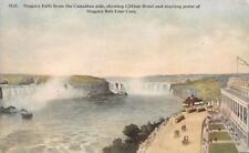 Canada,  NIAGARA FALLS~Clifton Hotel~NIAGARA BELT LINE CARS   c1910's Postcard