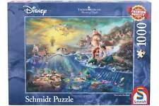 Schmidt Puzzle Disney Arielle 1000 Teile Erwachsenenpuzzle Meerjungfrau ab 14
