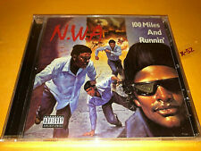 NWA cd 100 MILES AND RUNNIN ep DR DRE mc ren EAZY-E the DOC just dont bite it