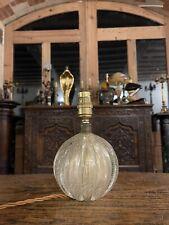 More details for bullicante archimede seguso gold bubble glass table lamp