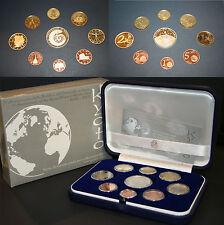 SERIE EURO PROOF 2007 5° ANNIVERSARIO RATIFICA PROTOCOLLO DI KYOTO