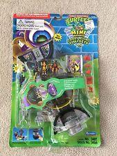 1995 TMNT Mini Mutants Carry Along Communicator Playset Ninja Turtles Playmates