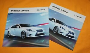 Lexus IS 2013 Prospekt Brochure Depliant Catalog Folder Prospetto Broschyr