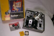 Vintage Kodak Brownie Hawkeye Flash Outfit Camera - Original Box w/close-up lens