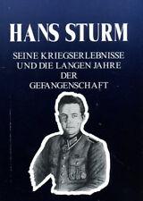 Hans Sturm - Seine Kriegserlebnisse - Taschenbuch!