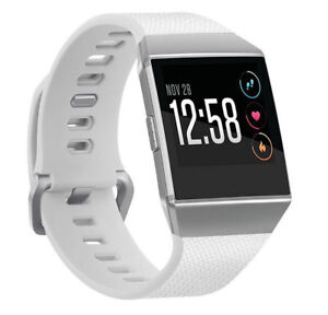 Fitbit Ionic Replacement Band Secure Strap Wristband Metal Buckle No Tracker