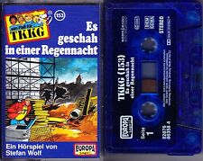 MC TKKG 153 - Es geschah in einer Regennacht - EUROPA Logo! blau