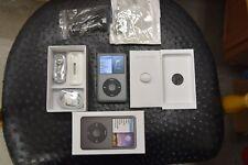 NEAR MINT Black Apple iPod classic 7th 160GB SSD 1yr WARRANTY MC297LL/A 5 HOURS