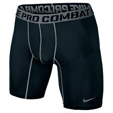 "NIKE PRO COMBAT CORE COMPRESSION 6"" BOY'S SHORTS 2.0 STYLE 522804-010 SIZE YM"
