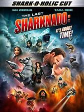 The Last Sharknado: Its About Time (DVD, 2018)