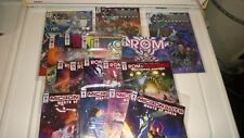 Huge Lot IDW Rom Micronauts Transformers 17 Issues Hasbro Heroes