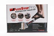 Megaware FlexStep Pro - Adjustable Boat Trailer Step, Aluminum Stair