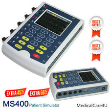 USA Fedex MS400 Patient Simulator Touch Screen Multiparameter ECG Simulator