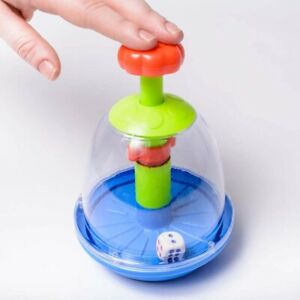 Eduk8 Dice Dome Hands Free Roller - Never Loose Your Dice   Boardgames & Maths